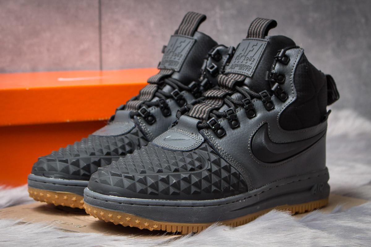 7abb4983af5b Зимние ботинки на меху Nike LF1 Duckboot, темно-серые (30404),   42 ...