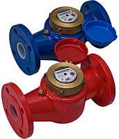 Счетчик для горячей воды  с турбиной ЛЛТ - 80Г Ду 80 Ру16