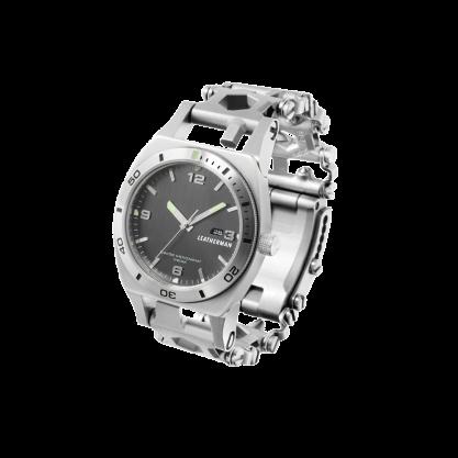 Часы-браслет Leatherman Tread Tempo серебро