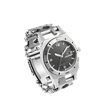 Часы-браслет Leatherman Tread Tempo серебро, фото 2
