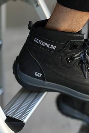 Мужские зимние ботинки CATERPILAR. Серые , фото 2