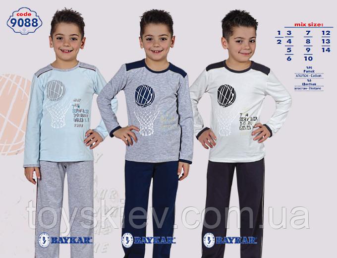 Пижама для мальчика BAYKAR Байкар 9088 (3-6лет) рост от 98см. до 122см.