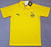 Футболка поло Боруссия Дортмунд сезон 2017-2018 (желтая), фото 1