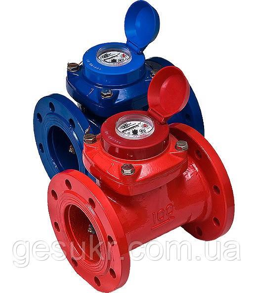 Счетчик для горячей воды  с турбиной ЛЛТ - 100Г Ду 100Ру16
