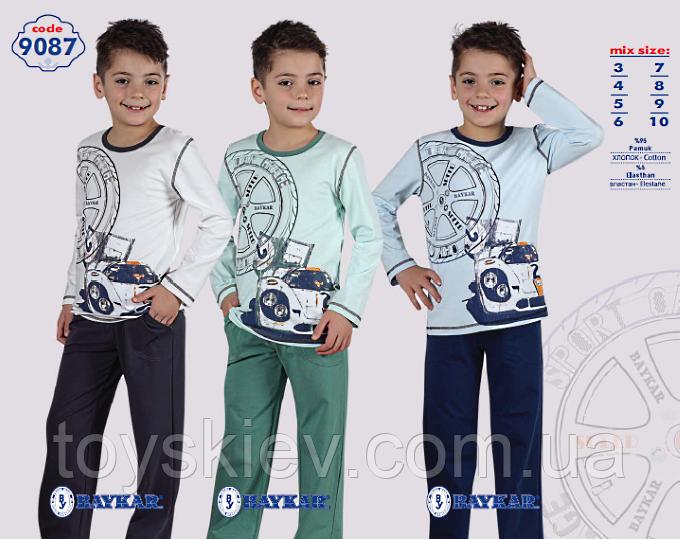 Пижама для мальчика BAYKAR Байкар 9087 (7-10лет) рост от 122см. до 146см.