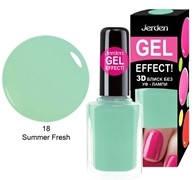 Лак для ногтей Jerden gel effect 9мл №18 summer fresh, фото 1