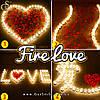 """Романтичний набір світильників - """"Fire Love"""" - 100 шт"""