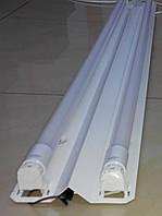 Модульный LED светильник Matrix LL-38 для светодиодных ламп Т8 1,2м (магистральный), фото 1