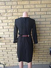 Платье женское высокого качества с кружевом LYSETA , Турция, фото 2