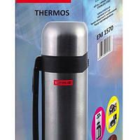 Термос нержавеющий круглый для воды и еды V 1500 мл (шт)