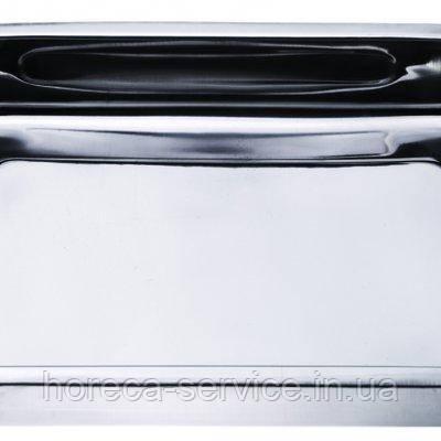 Противень нержавеющий прямоугольный 330*240*60 мм (шт), фото 2
