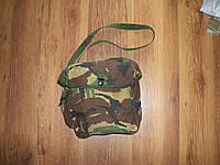 Сумка противогазная, британская армия камуфляж ДПМ