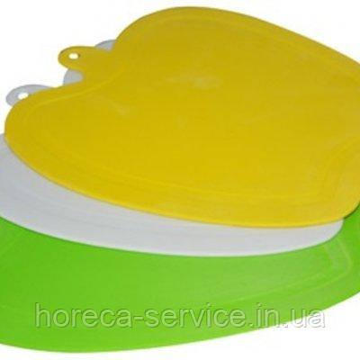 Доска разд. пластик Яблоко 220*180мм (шт), фото 2