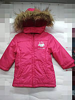 Детская демисезонная парка-куртка C&A 74-80 рост девочка