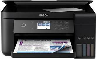 МФУ А4 цв. Epson L6160 Фабрика печати c WI-FI (C11CG21404)
