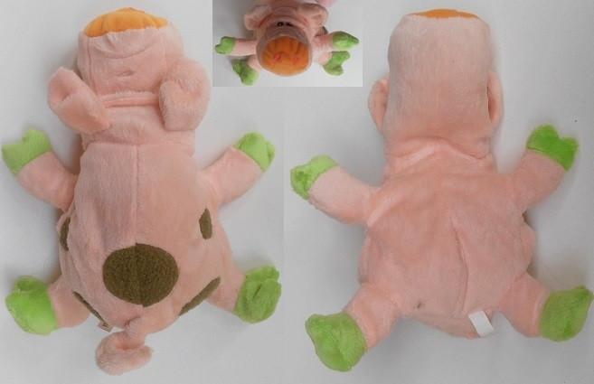 Мягкая игрушка Свинка музыкальная 20см