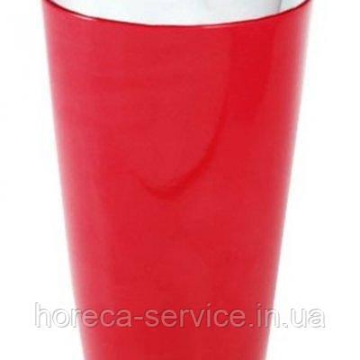 """Шейкер""""Бостон""""с красным виниловым покритием H 170 мм (шт)"""