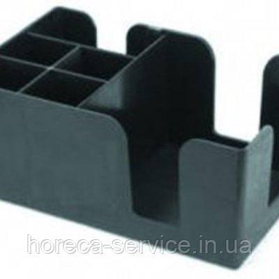 Барный органайзер на 6 отделений черного цвета (шт)