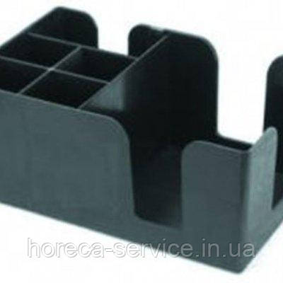 Барный органайзер на 6 отделений черного цвета (шт), фото 2