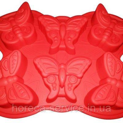 """Силиконовая форма""""Бабочки""""320*230*35 мм (шт), фото 2"""
