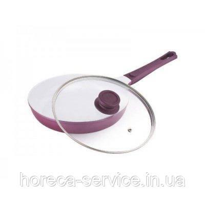 Сковорода с керамическим покрытием и крышкой Ø 220 мм (шт)