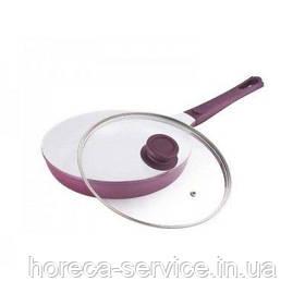 Сковорода с керамическим покрытием и крышкой Ø 280 мм шт)