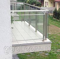 Профиль для балконов и террас под плитку алюминиевый 2 м.п. тип К30