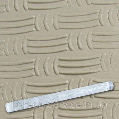 """Скалка текстурная акриловая""""Горизонтальные и вертикальные линии""""L 210 мм (шт)"""