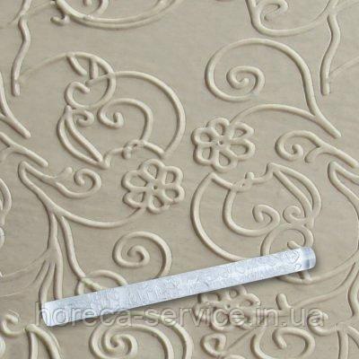 """Скалка текстурная акриловая""""Цветы в завидке""""L 290 мм (шт), фото 2"""
