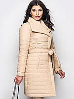 XL (50) / Модная теплая зимняя куртка Ingrid, бежевый