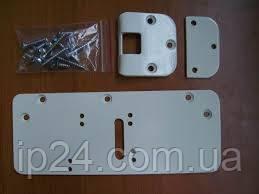 Монтажный комплект на пластик. дверь (серебро)