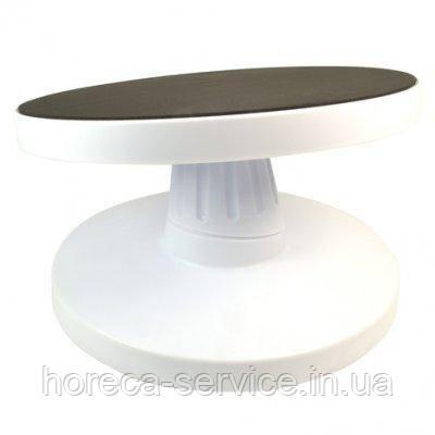 Подставка крутящаяся для работы с тортом с наклоном Ø 280* Н 130 мм (шт)