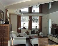Глянцевые потолки кабинет