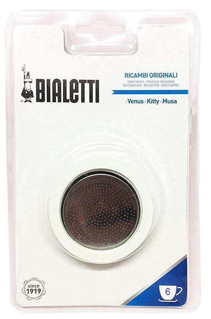 Комплект запчастей Bialetti для стальной гейзерной кофеварки на 6 порции