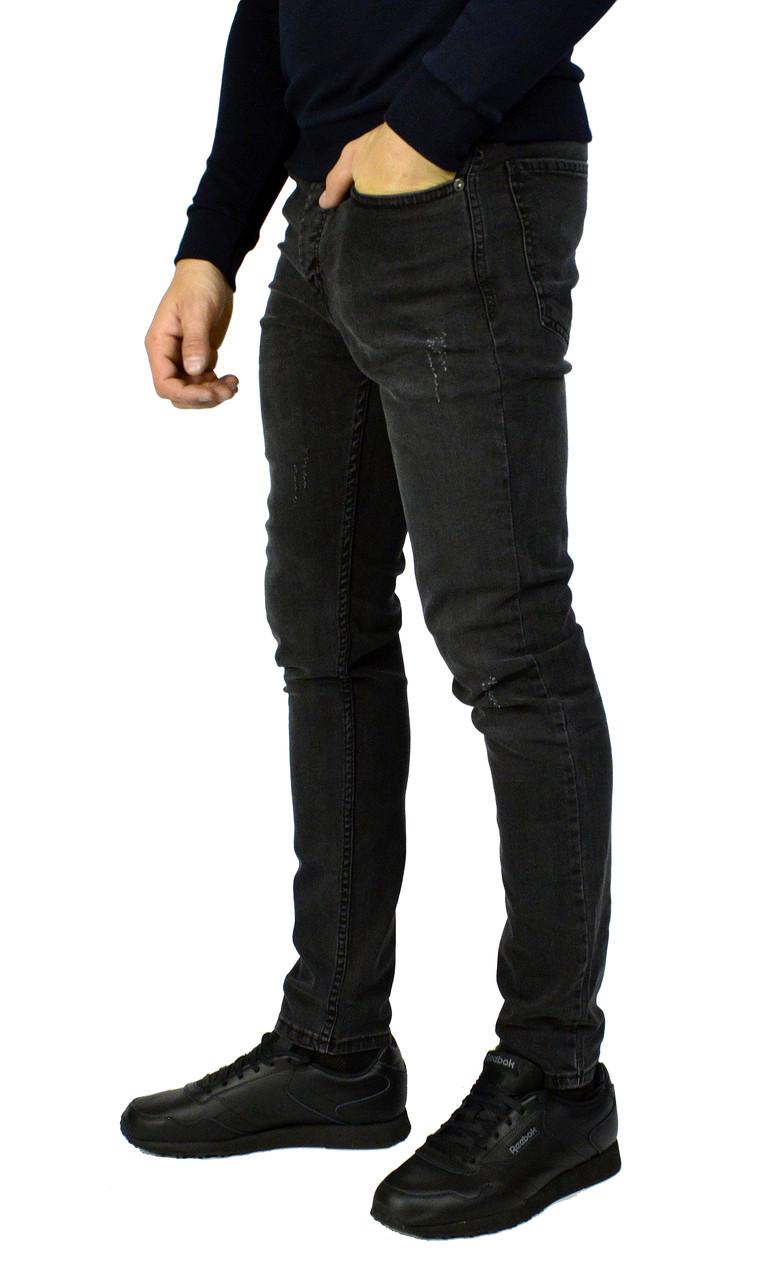 2b170b32182 Темно-серые мужские джинсы зауженные TRIPTONIC DENIM  продажа
