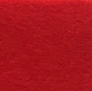 109 Фетр кольоровий 20х28 см 1мм 1шт. (червоний)