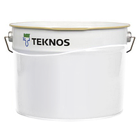 Краска для металла Текнос Текнолак Комби 50, Б4, 9л, желтая