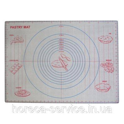 Коврик силиконовый армированный с разметкой 600*400 мм (шт), фото 2