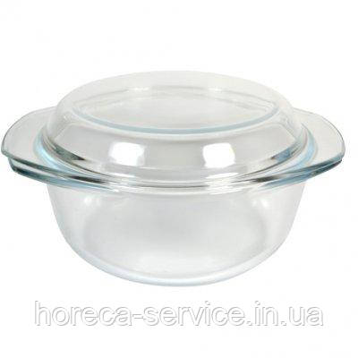 Кастрюля стеклянная жаропрочная с крышкой V 700 мл (шт)