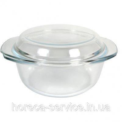 Кастрюля стеклянная жаропрочная с крышкой V 700 мл (шт), фото 2