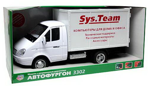 Машинка 9123 С  инерционная Служба доставки