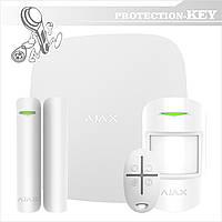 Комплект GSM сигнализации Ajax Starter Kit White