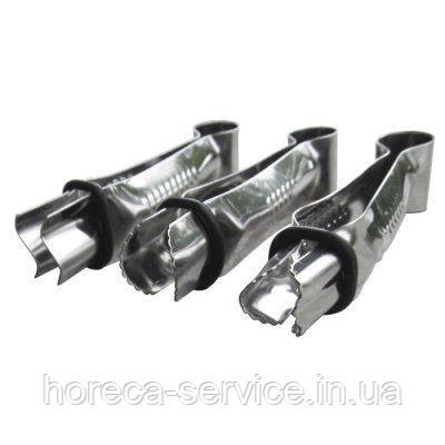 Щипцы для декорирования тортов L 90 мм (набор 3 шт )