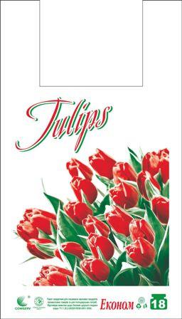 Пакет майка 28*49 тюльпан 250шт/уп