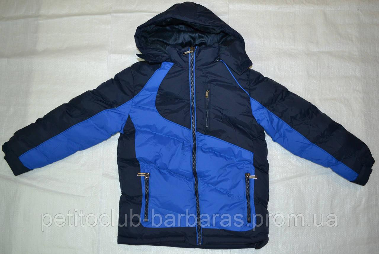 Зимняя куртка Active Sport для мальчика синяя (Венгрия)