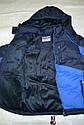 Зимняя куртка Active Sport для мальчика синяя (Венгрия), фото 3