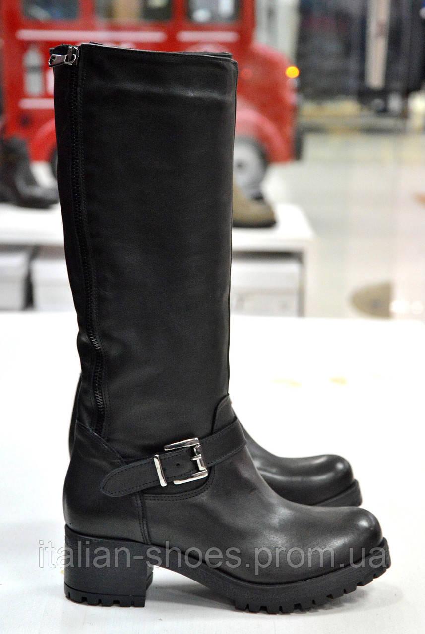 Зимние черные сапоги Notaro -765