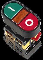 """Кнопка APВВ-22N """"I-O"""" d22мм неон/240В 1з+1р"""