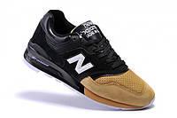 """Кроссовки New Balance 997 """"Black/Yellow"""" (Черные/Желтые)"""