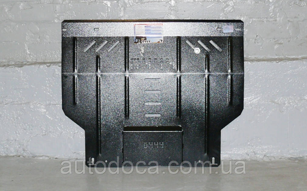 Защита картера двигателя и кпп Fiat Fiorino  2007-